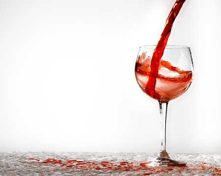 closed corks: glasses of wine