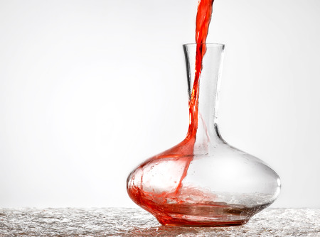 sommeliers: decanter Stock Photo