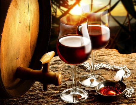 Wein Standard-Bild - 27848886
