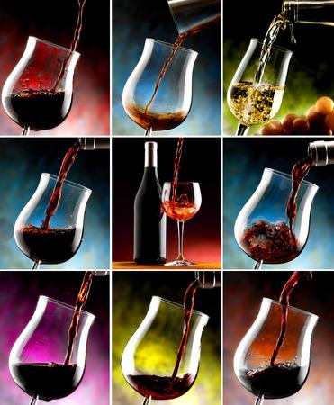 tastevin: a glass of wine Stock Photo
