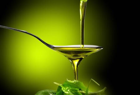 cooking oil: oil and olives