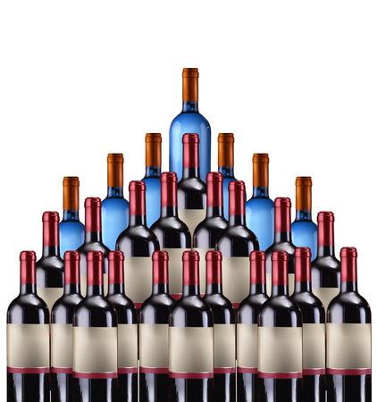 sommeliers: Wine bottles Stock Photo