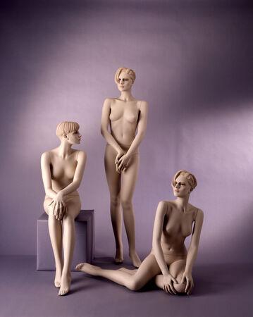 mannequin: mannequins d'époque