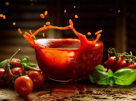 tomatensaus Stockfoto