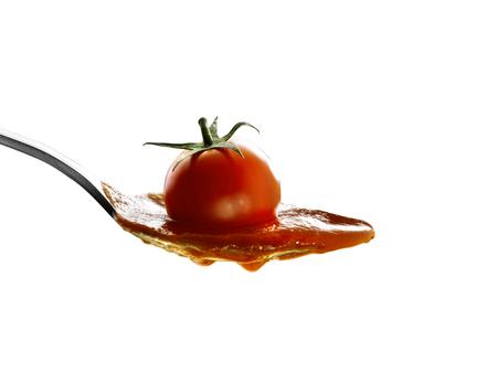 Tomaten-sauce Standard-Bild - 92851383
