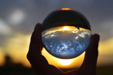 photographing through a Lensball Standard-Bild