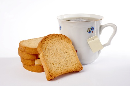 tea and rusks  Stock Photo - 16737874