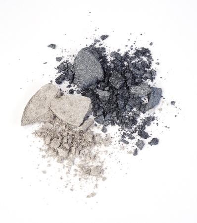 eyeshadows isolated on white Stock Photo