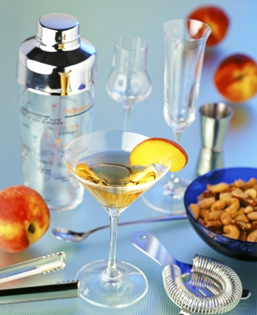 Cocktail and bar accessories Stock Photo