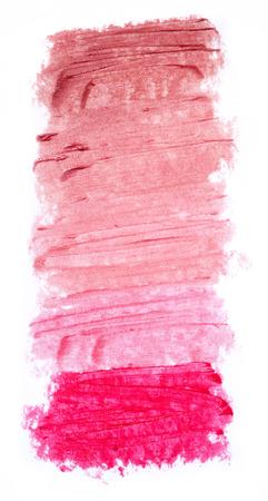 Lipstick palette Stock Photo
