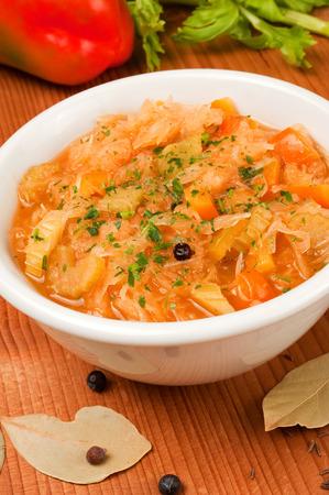 delicious cabbage soup