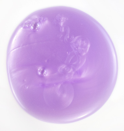 bodywash: purple shower gel isolated over white background