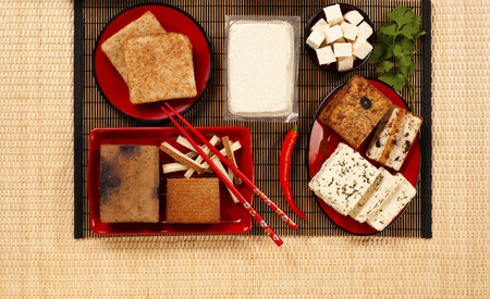 various tofu products