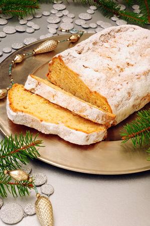 Traditional German Christmas Stollen