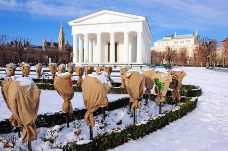 Theseus temple in the People's Garden, Vienna, Austria photo