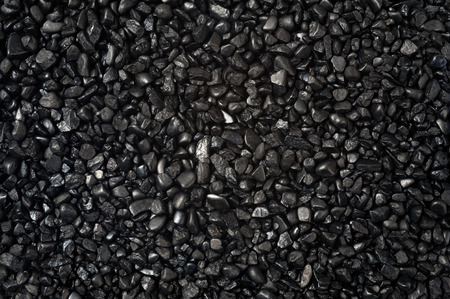 granular texture of black granulat for abstract background Imagens