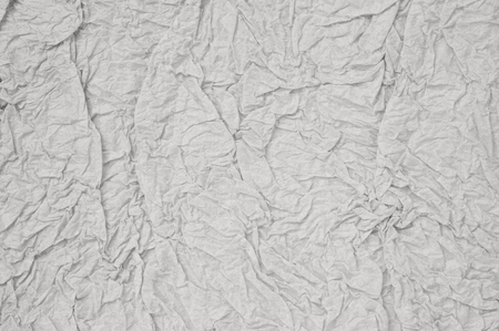 uncoated: gray crumpled paper sheet background texture