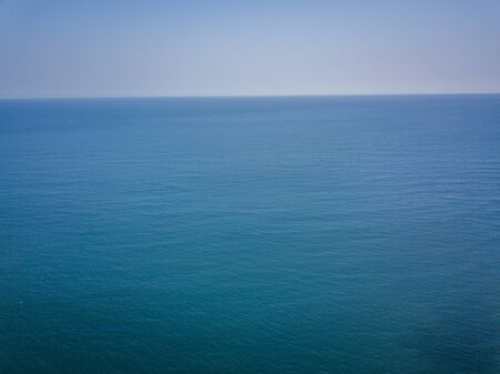 Drone picture of the Indian ocean, Tanzania.