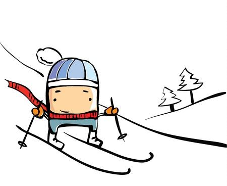 freetime: Skier