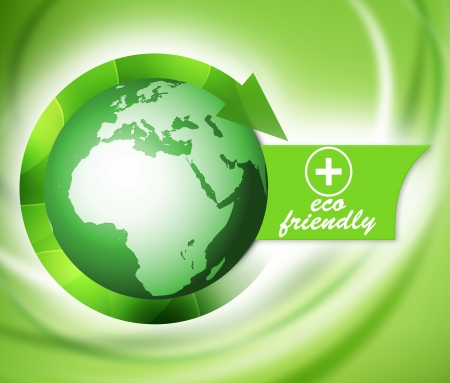 Green bio eco friendly world, life nature