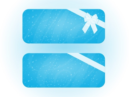 Cartolina banner natale neve bianco astratto fiocco  Stock Photo - 16854931