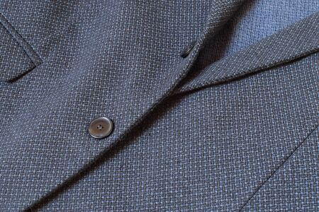 Detail of a blue sport coat for background or banner. Stockfoto