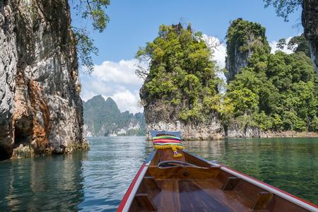 lake khao sok national park thailand Stock Photo