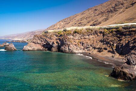 bays hidden in the La Palma Island
