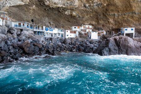 Pirate cave Poris de Candelaria, a hidden tourist attraction