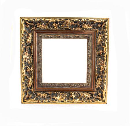 cadre antique: Antique frame. Banque d'images