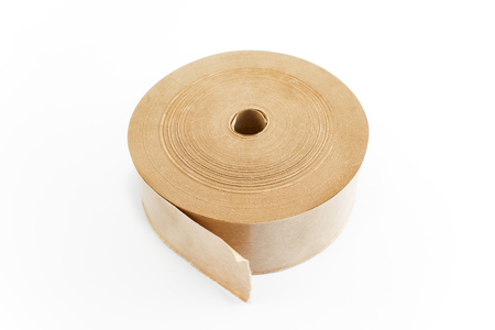 packing tape: Paper adhesive tape for packing.