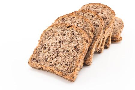 whole grain: Whole grain bread sprouted wheat.