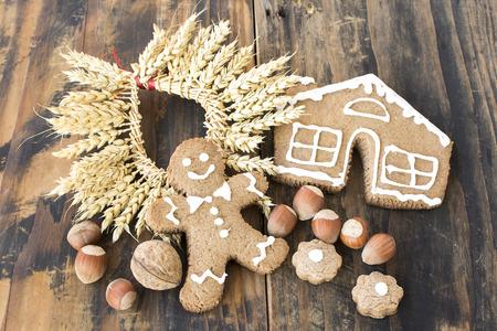 gingerbread man: Concept of Harvest, Gingerbread Man.