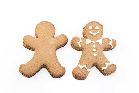 Concept of Personality, Gingerbread  Man Cookies.