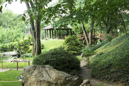 Japanese Garden. Standard-Bild - 104490200