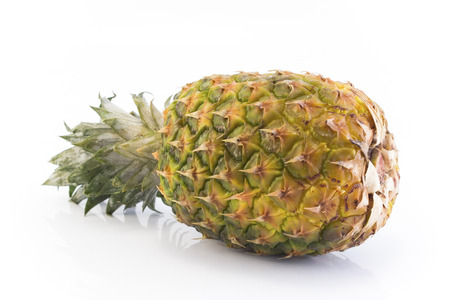 Pineapple Isolated on White Background. Standard-Bild - 106148894
