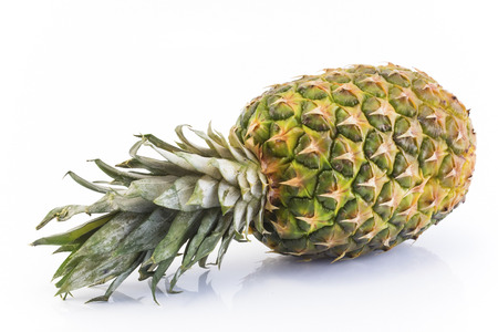 Pineapple Isolated on White Background. Standard-Bild - 106148895