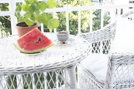 Summer Enjoyment on the Terrace.