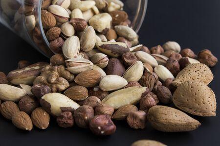 Nuts Mix, Abundance of Glass Jar.
