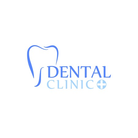 Can be used as logo for dental, dentist or stomatology clinic, teeth care and health concept. Иллюстрация