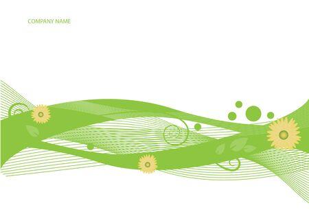 Green Background vector Vector