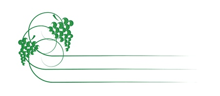 Simple wine label etiquette Illustration