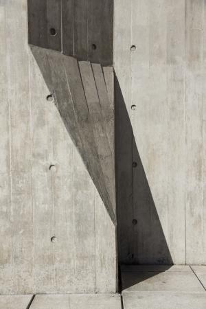Architectural concrete detail  photo