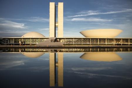 미래의 브라질 의회 건물 에디토리얼