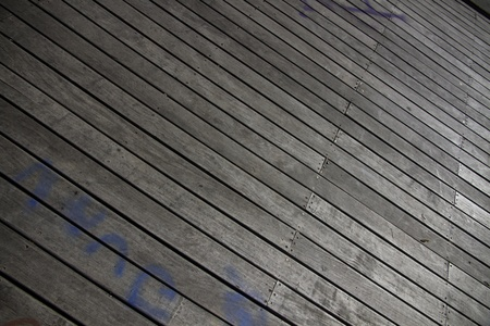 Wooden deck  photo