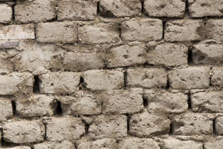 adobe clay wall texture  photo