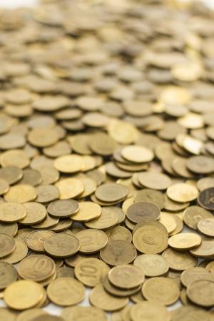 dolar: Piles of coins  Capitalism, cash, money dolar