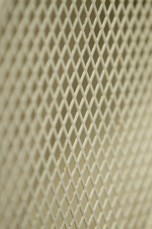 checkerplate: white steel grate