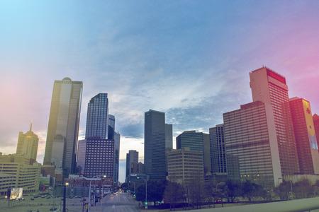 Dallas Skyline buildings Editorial