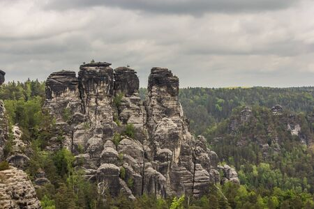 saxon: Saxon Switzerland Stock Photo